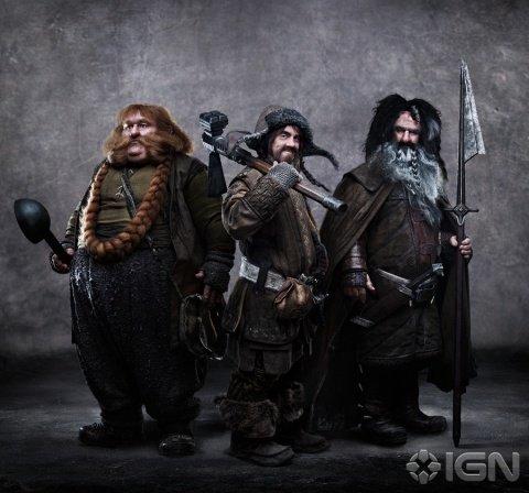 El Hobbit enanos