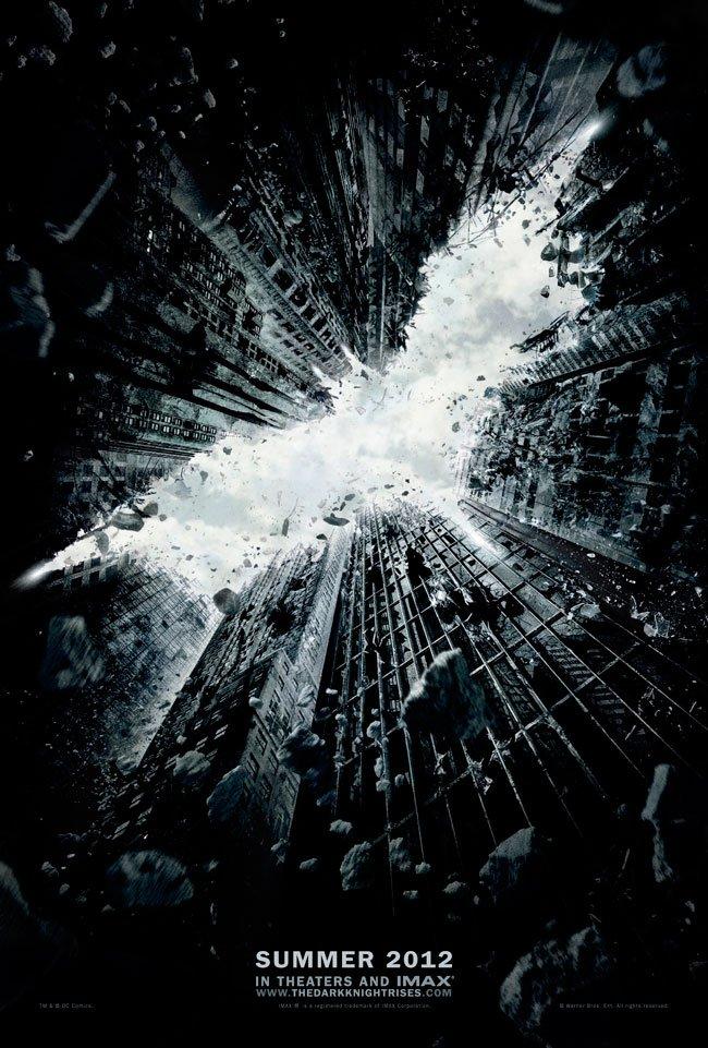 The Dark Knight Rises, teaser poster