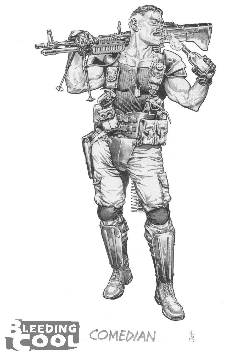 Watchmen 2 Comedian