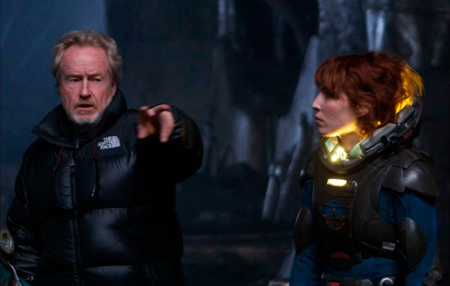 Prometheus Ridley Scott Alien