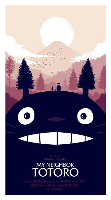 Mi Vecino Totoro carteles