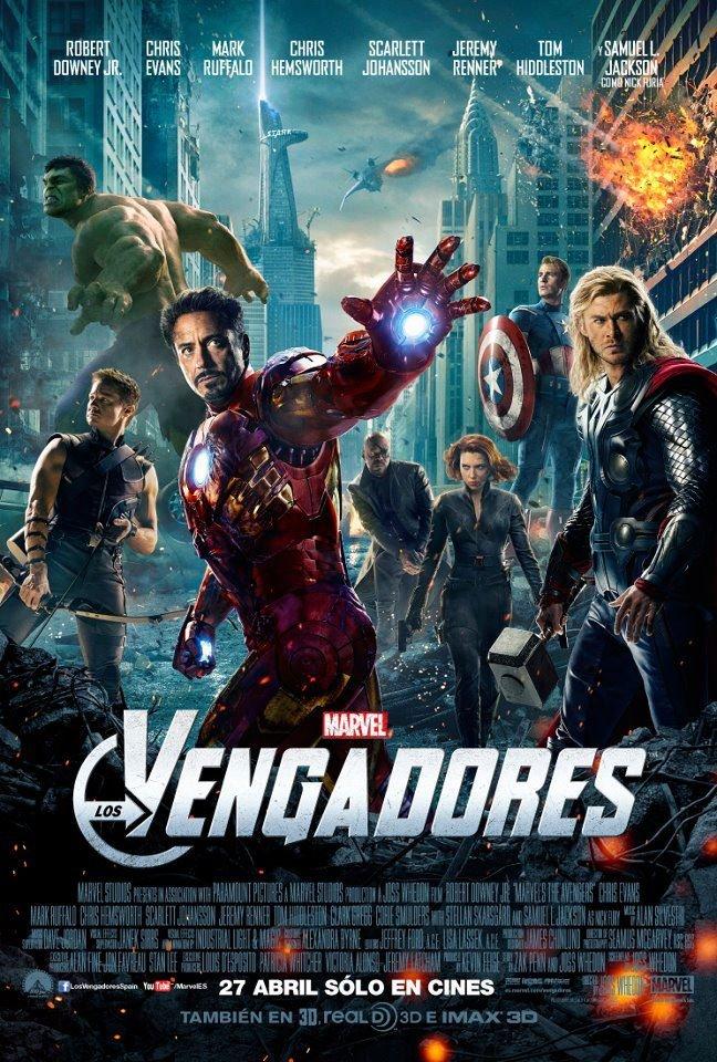 Nuevo cartel de Los Vengadores de Joss Whedom