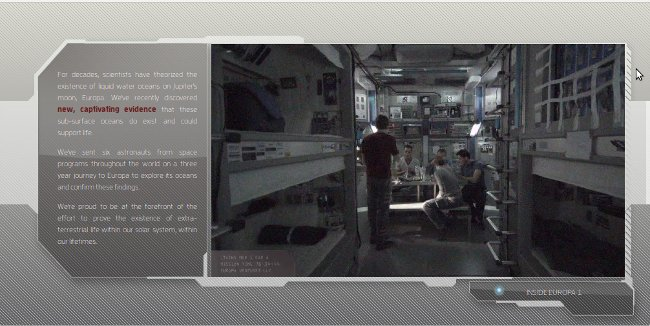 Europa Report nave