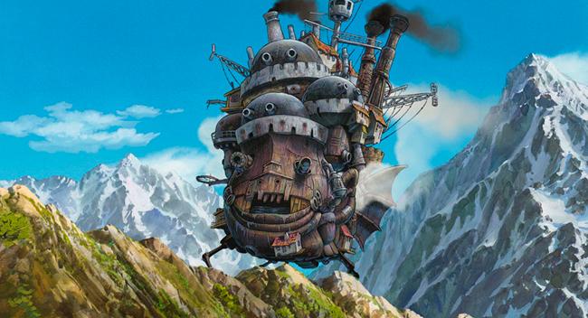El Castillo Ambulante Studio Ghibli