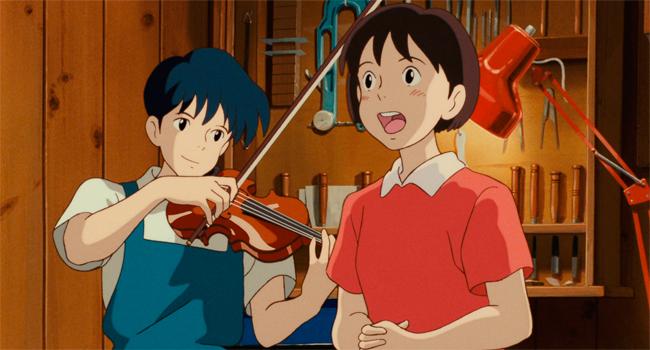 Susurros del Corazón Studio Ghibli
