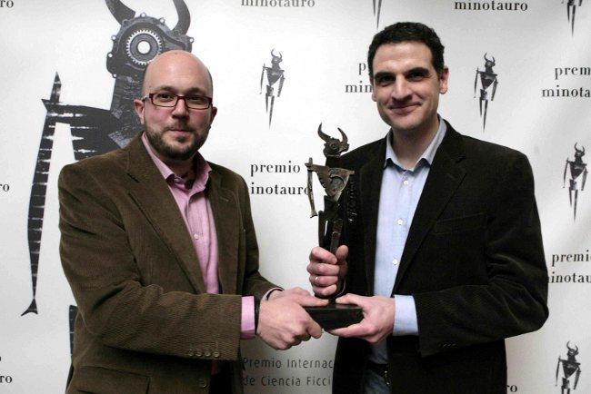 David Zurdo y Angel Gutierrez. Premio Minotauro 2012