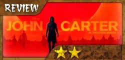 Review John Carter. 2 estrellas. Prescindible, pero no demasiado mala