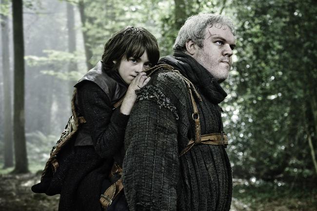 Juego de Tronos - Bran y Hodor