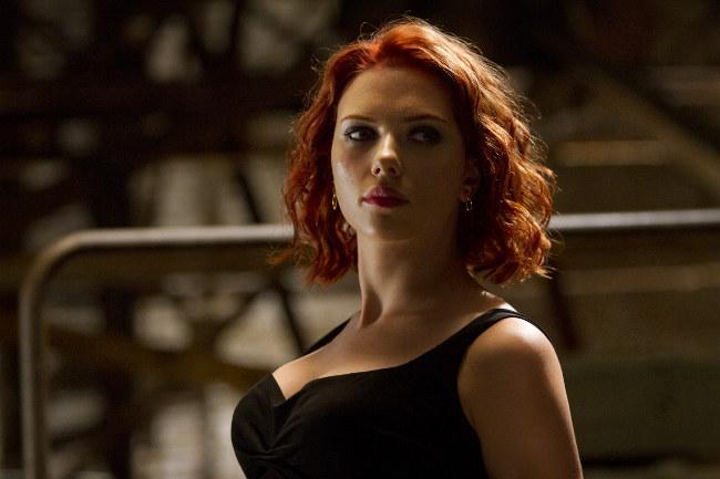 Los Vengadores, Scarlett Johanson - Viuda Negra