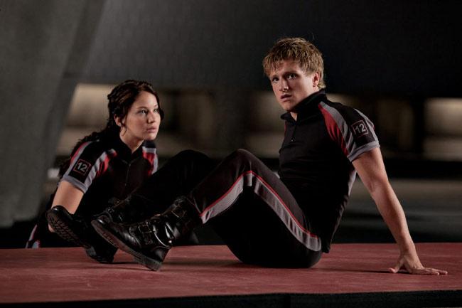 Los Juegos del Hambre Katniss y Peeta