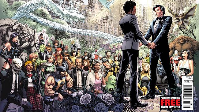 Boda gay X-Men Estrella del Norte