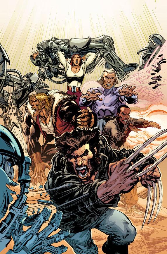 The First X-Men. Portada Neal Adams