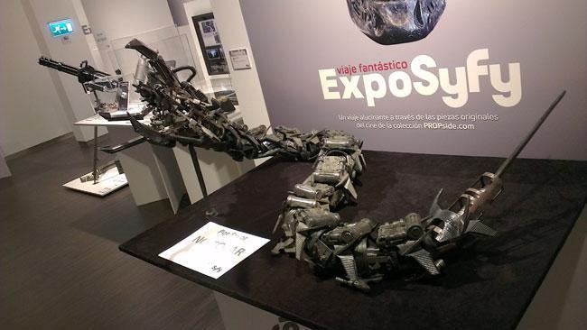 Objetos originales de la saga 'Terminator'