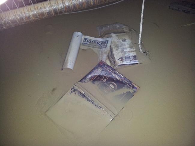 Inundaciones en Aventuras en la Marca del Este
