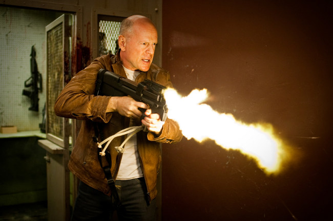 Bruce Willis en Looper