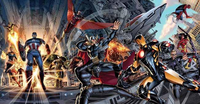 Marvel Now Avengers Portada