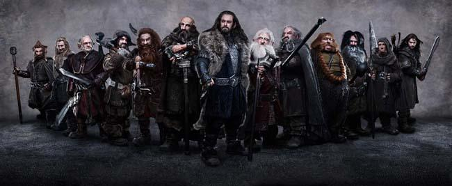 El hobbit: un viaje inesperado. Enanos