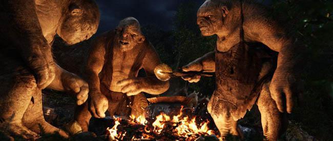 El hobbit: un viaje inesperado. Los trolls