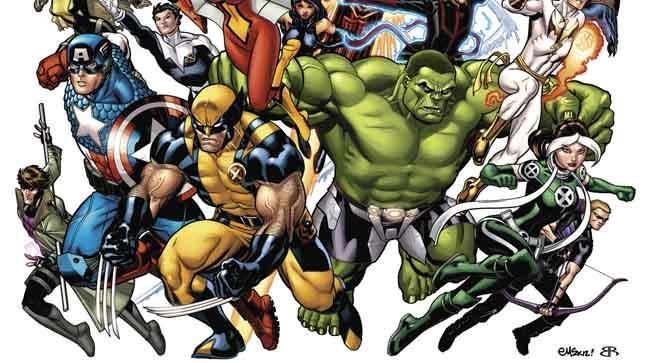Marvel Now heroes