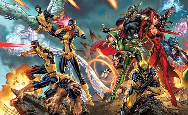 Marvel Now Los grupos Principal