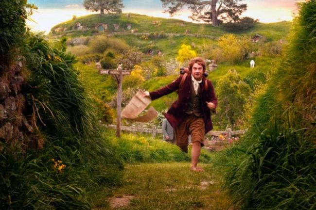 Bilbo empieza su aventura