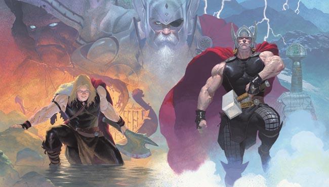 Marvel Now. Thor, god of thunder