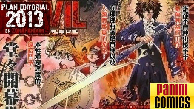 Panini manga 2013 plan editorial