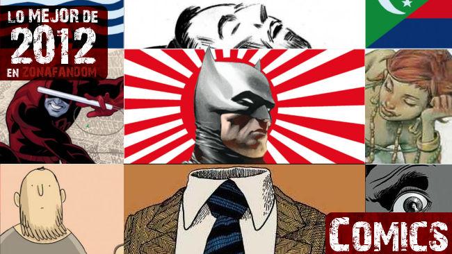 Los mejores cómics de 2012