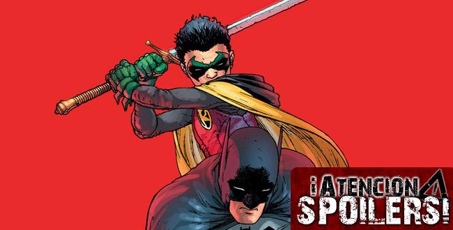 Batman contra Robin portada