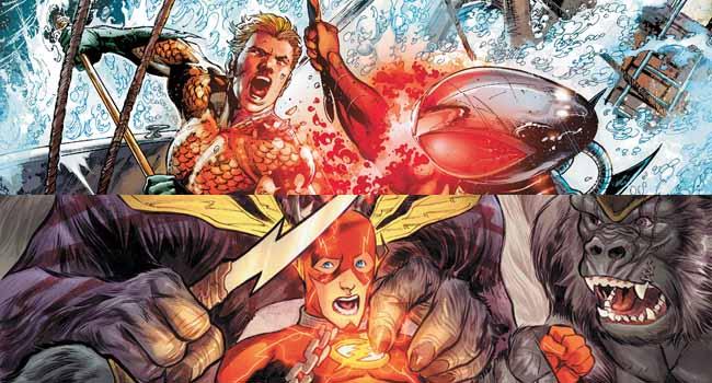 Aquaman y Flash num.3