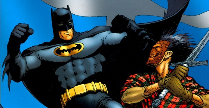 Batman. Scottish connection portada