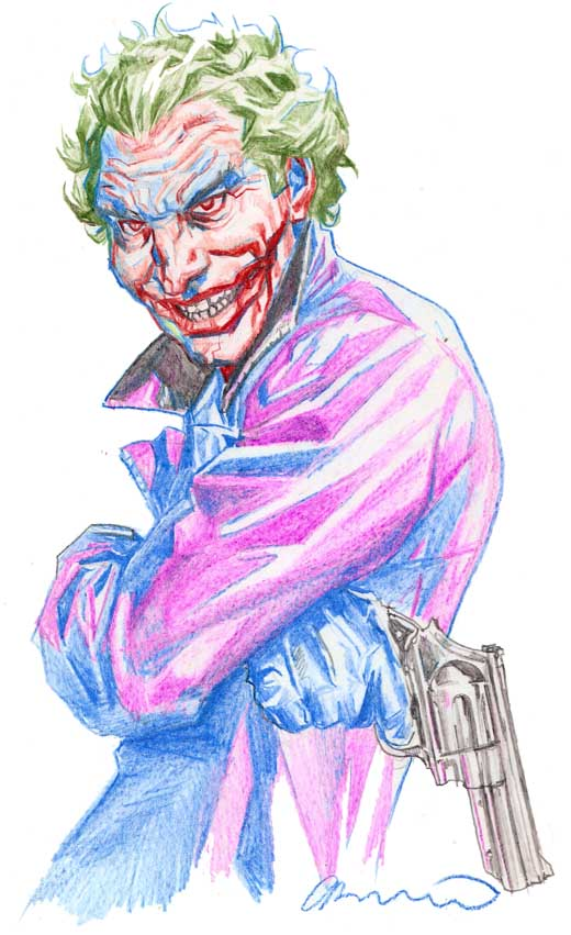 Batman Noel Joker