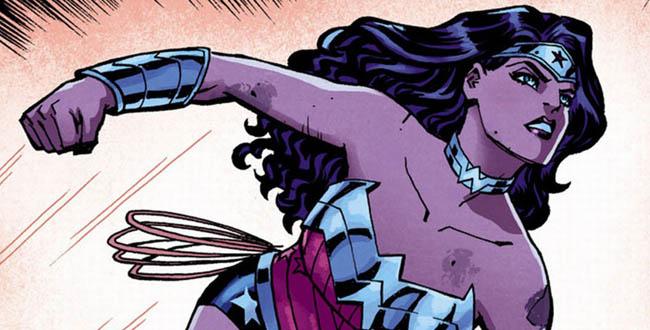 Wonder Woman interior 1