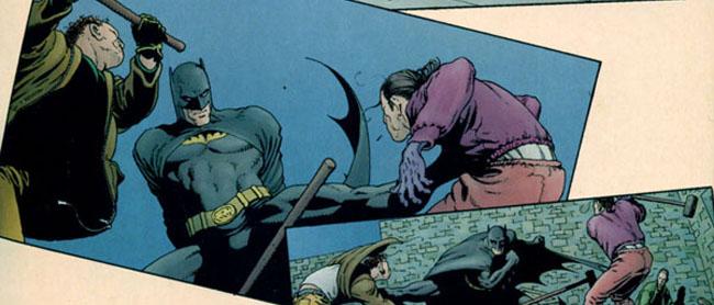 Batman. Scottish connection
