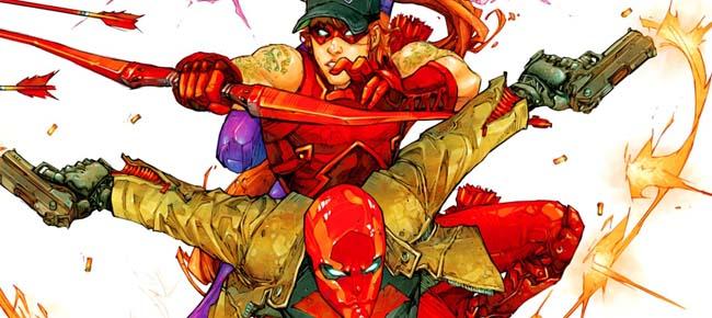 Capucha roja y los forajidos portada